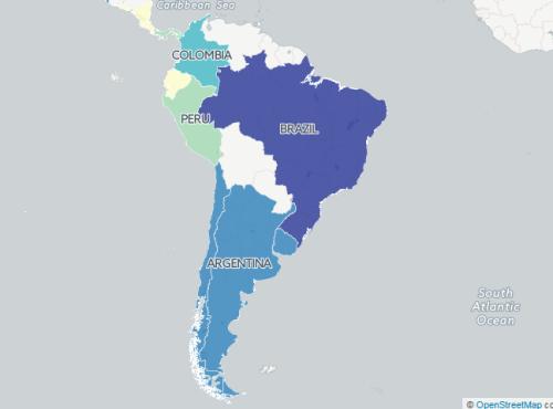 region sudamerica